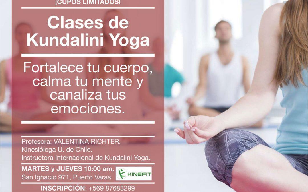 En Junio, Clases de Yoga Kundalini